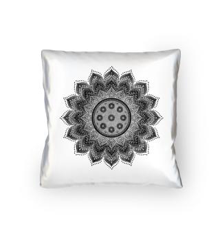 Handpan - Hang Drum Mandala - gray