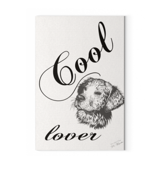 Canvas: Cool Dog Lover / Hundeliebhaber