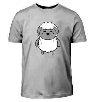 Schafe Tiere Landwirt · Lustig