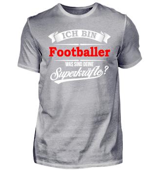 Footballer American Football Superkräfte