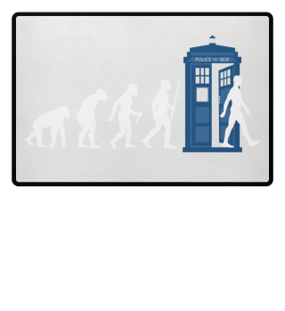 ★ Evolution Of Humans - Police Box 7a