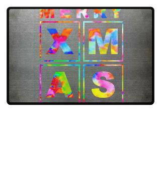 Stylish Square Frame - XMAS - colored