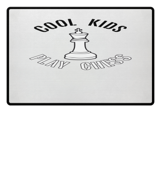 Cool Kids Play Chess King Peace