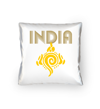 India Vishnu Shankham lettering