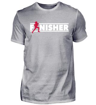 Finisher Frauen Running motivation shirt