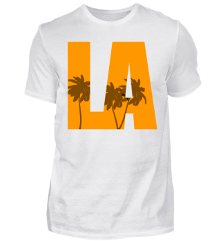 LA Los Angeles Palmen Shirt