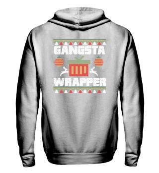 Ugly Christmas Gangsta Wrapper Gift