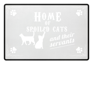 HOME OF CATS PREMIUM DOORMAT