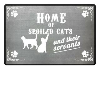 HOME OF CATS PREMIUM DOORMAT