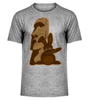 ★ Dabbing Bunny Easter Island Moai 3