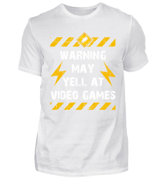 Gamer Shirt Warning may yell at video..