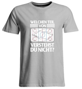 Eishockey Shirt Lustiges Geschenk für Eishockeyspieler