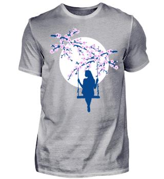 Cherry Blossoms SAKURA Full Moon Swing 3