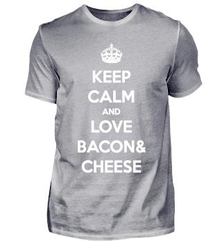 Bacon & Cheese / Käse und Schinken