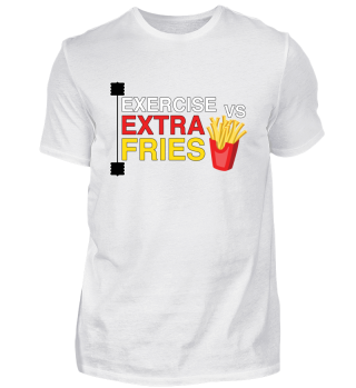 Exercise vs extra fries