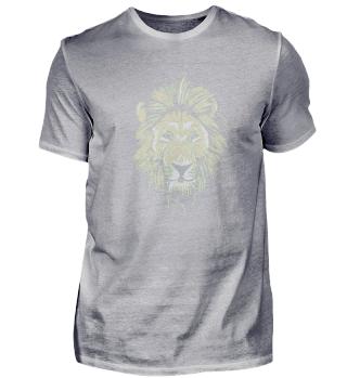 Handdraw Lion Gey white Artist