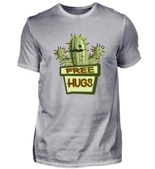 Free Hugs Kaktus Shirt