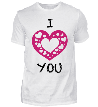 I Love You Valentines-day Shirt