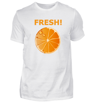 Fresh Cut Orange - Gift idea