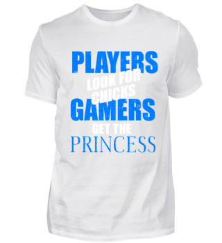 PLAYERS LOOK FOR CHICKS GAMERS GET THE