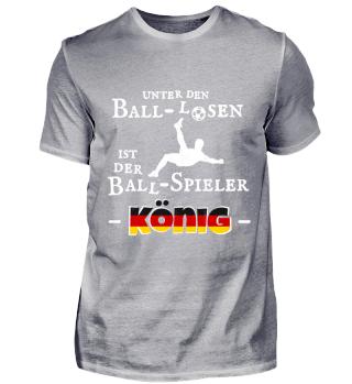 Fussball Deutschland Ballspieler König