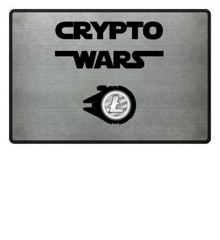 'Crypto Wars Spaceship' Litecoin Shirt