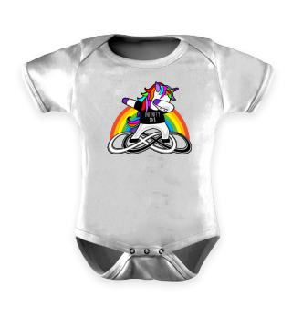 Dabbing Rainbow Unicorn - Infinity Dab 3