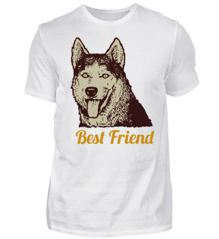 Dog Best Friend - Bester Freund Hund