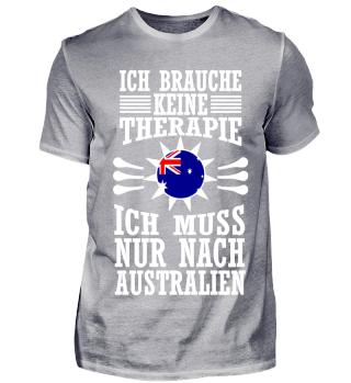 Ich muss nur nach Australien