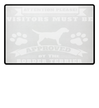border terrier doormat