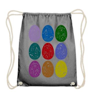 ★ Nine Boho Ornaments Easter Eggs 10