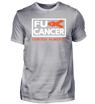 Fck Cancer Shirt leuikemia cancer