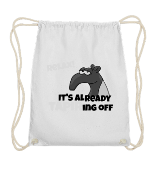 Relax tapir already tapering off gift