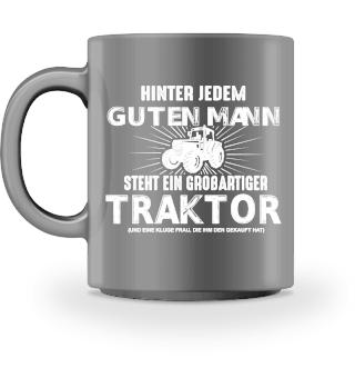Tasse - Landwirt großartiger Traktor