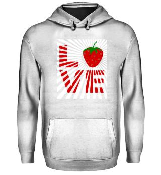 I love strawberries fruit - gift