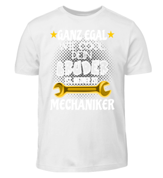 Kinder Shirt - Mein Bruder Mechaniker