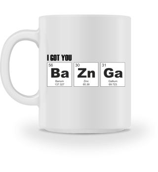 Chemical Elements - got BaZnGa - black 3