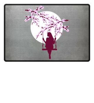 Cherry Blossoms SAKURA Full Moon Swing 2