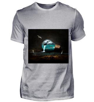 Glühbirnenaquarium