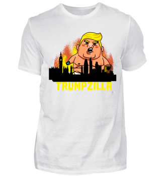 Trumpzilla London Trump USA Geschenk