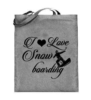 ☛ I LOVE SNOWBOARDING #3S