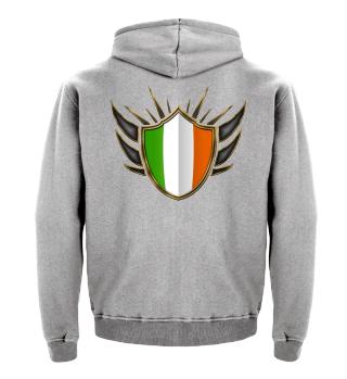 Irland-Ireland Wappen Flagge 014