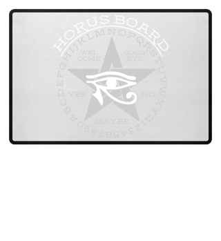 Mystical Pentagram Horus Board - w-g