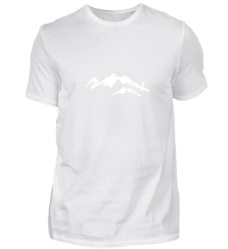 Hiking Nature Gift Mountain Peaks Snow