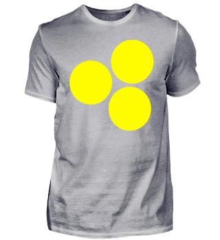gelbe Kreise - Design - Style - Motiv