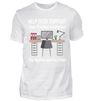 HELP DESK SUPPORT, YOUR PROBLEM IS