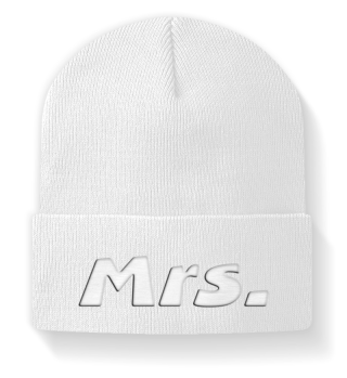 ♥ Embroidery - Missis Wife Mrs.