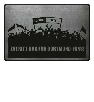 Dortmund Fußmatte | schwarz-gelb