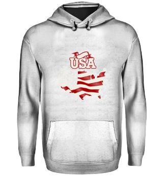 100% USA Flag