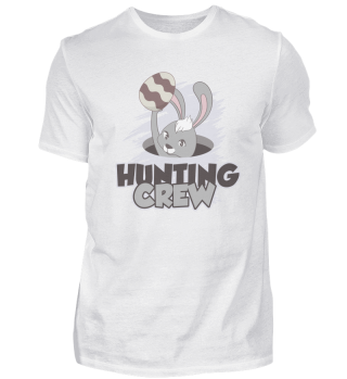 Ostern Eier Hunting Crew Hase